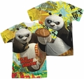 Kung Fu Panda mens full sublimation t-shirt Dragon Warrior