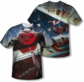 Kung Fu Panda mens full sublimation t-shirt Epic Jumping