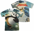 Kung Fu Panda mens full sublimation t-shirt Training
