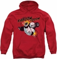 Kung Fu Panda pull-over hoodie Kaboom Of Doom adult red