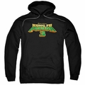 Kung Fu Panda pull-over hoodie Logo adult Black