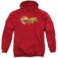 Kung Fu Panda pull-over hoodie Po Logo adult Red