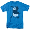 Kung Fu Panda t-shirt Fighting Stance mens turquoise
