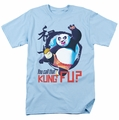 Kung Fu Panda t-shirt Kung Fu mens light blue
