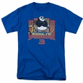 Kung Fu Panda t-shirt Kung Furry mens royal blue