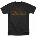Kung Fu Panda t-shirt Skadoosh mens black