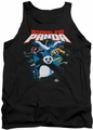 Kung Fu Panda tank top Kung Fu Group mens black