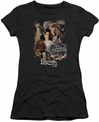 Labyrinth juniors t-shirt 25 Years Of Magic black
