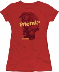 Labyrinth juniors t-shirt Ludo Friend red