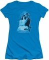 Labyrinth juniors t-shirt Peach Dreams turquoise