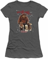 Labyrinth juniors t-shirt Should You Need Us charcoal