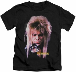 Labyrinth kids t-shirt Goblin King black