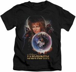 Labyrinth kids t-shirt I Have A Gift black