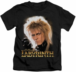 Labyrinth kids t-shirt Jareth black