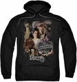 Labyrinth pull-over hoodie 25 Years Of Magic adult black