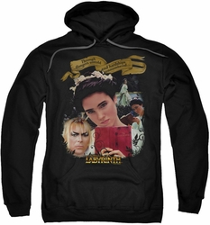Labyrinth pull-over hoodie Dangers Untold adult black