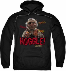 Labyrinth pull-over hoodie Hoggle adult black