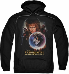 Labyrinth pull-over hoodie I Have A Gift adult black