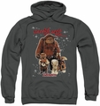 Labyrinth pull-over hoodie Should You Need Us adult charcoal