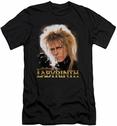 Labyrinth slim-fit t-shirt Jareth mens black