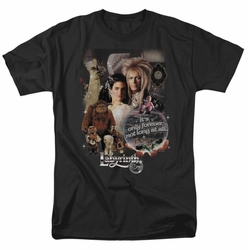 Labyrinth t-shirt 25 Years Of Magic mens black