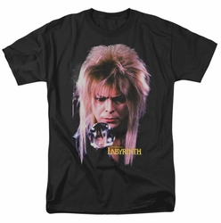 Labyrinth t-shirt Goblin King mens black