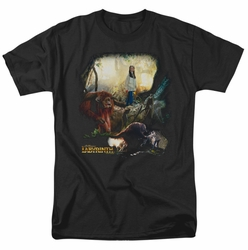 Labyrinth t-shirt Sarah & Ludo mens black