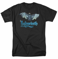 Labyrinth t-shirt Title Sequence mens black
