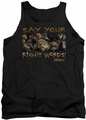 Labyrinth tank top Say Your Right Words mens black