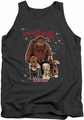Labyrinth tank top Should You Need Us mens charcoal