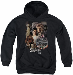 Labyrinth youth teen hoodie 25 Years Of Magic black