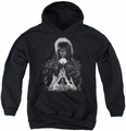 Labyrinth youth teen hoodie Castle black