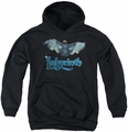 Labyrinth youth teen hoodie Title Sequence black