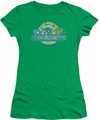 Land Before Time juniors t-shirt Retro Logo kelly green