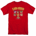 Land Before Time t-shirt I Dig Dinos mens red