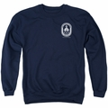Last Ship adult crewneck sweatshirt Port navy