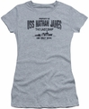 Last Ship juniors t-shirt USS Nathan James athletic heather