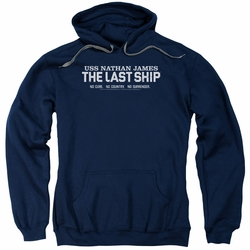 Last Ship pull-over hoodie Find The Cure adult navy