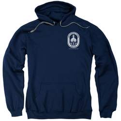 Last Ship pull-over hoodie Port adult navy