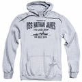 Last Ship pull-over hoodie USS Nathan James adult athletic heather
