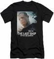 Last Ship slim-fit t-shirt Captain mens black