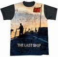 Last Ship sublimated t-shirt Searching short sleeve