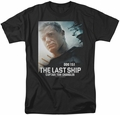 Last Ship t-shirt Captain mens black