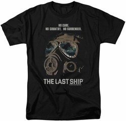 Last Ship t-shirt Mask mens black
