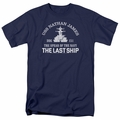 Last Ship t-shirt Open Water mens navy
