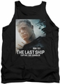 Last Ship tank top Captain adult black