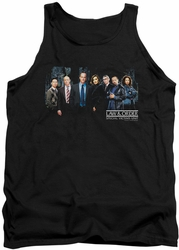 Law and Order SVU tank top Cast mens black