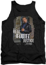 Law and Order SVU tank top Street Justice mens black