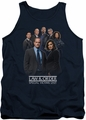 Law and Order SVU tank top Team mens navy