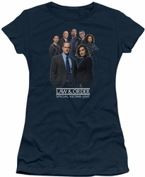 Law & Order SVU juniors t-shirt Team navy